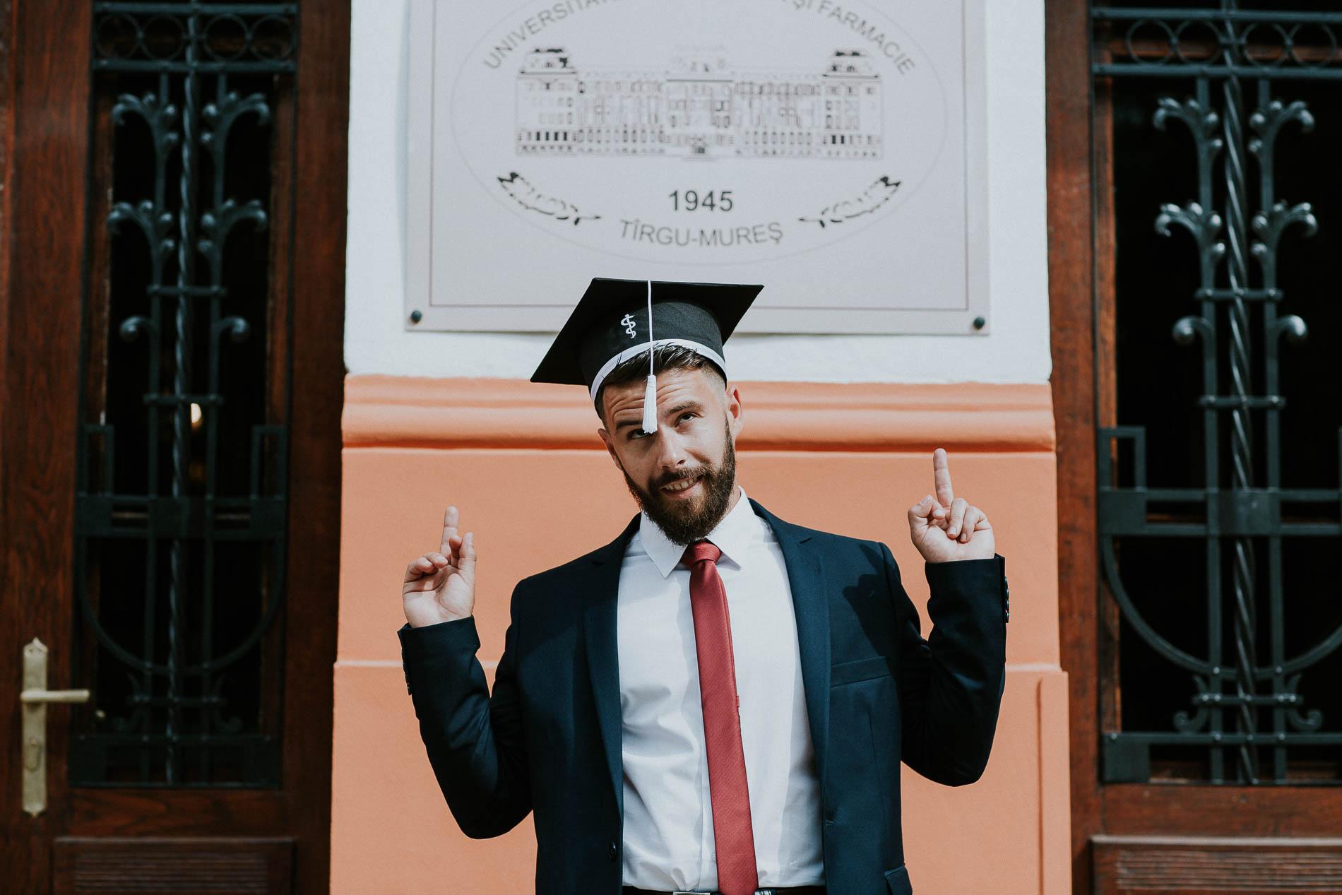 fotografii de absolvire senior portrait foto portret universitatea de medicina si farmacie targu mures16