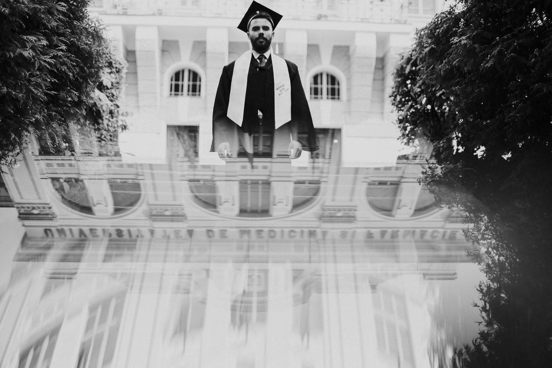 fotografii de absolvire senior portrait foto portret universitatea de medicina si farmacie targu mures5